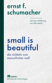 "Cover zu ""Small is beautiful"""