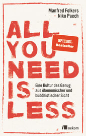 "Cover zu ""All you need is less"""