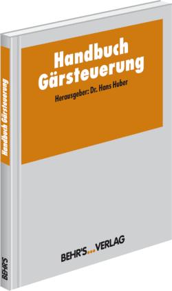 Handbuch Gärsteuerung