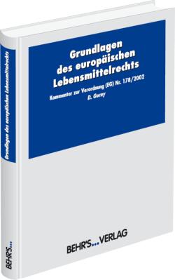 Basis-Verordnung (EG) Nr. 178/2002