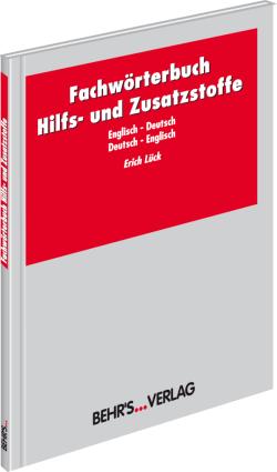 Fachwörterbuch Hilfs- und Zusatzstoffe