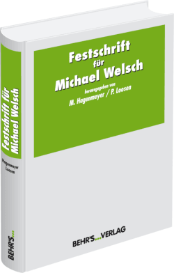 Festschrift für Michael Welsch