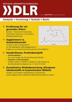 Deutsche Lebensmittel-Rundschau
