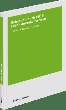 Behr's Jahrbuch für die Lebensmittelwirtschaft 2019