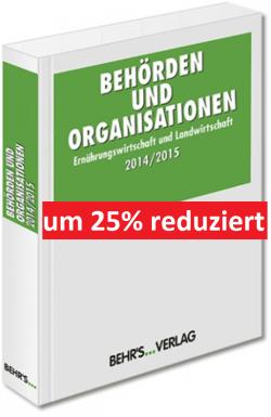 Behörden und Organisationen 2014/2015