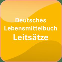 Deutsches Lebensmittelbuch Leitsätze