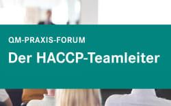 QM-PF Der HACCP-Teamleiter