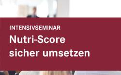 Nutri-Score sicher umsetzen