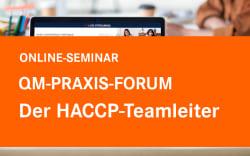 Der HACCP-Teamleiter!
