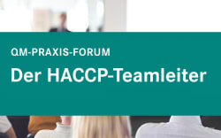 Der HACCP-Teamleiter