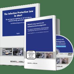 Belehrung nach §43 IFSG + Das IFSG kurz gefasst (10 Broschüren in verschiedenen Sprachen)