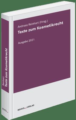 Texte zum Kosmetikrecht 2021