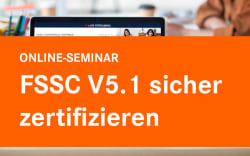 FSSC V5.1 sicher zertifizieren