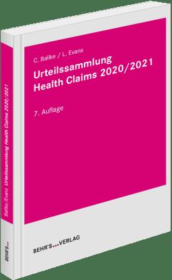 Urteilssammlung Health-Claims 2021