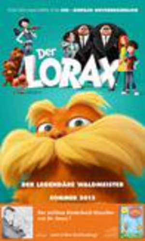 Cover Plakat ''Der Lorax''