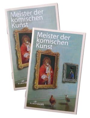Cover Prospekt Meister der Komischen Kunst