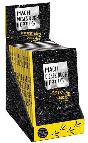 """Cover Leerbox Keri Smith """"Mach dieses Buch fertig immer und überall"""""""