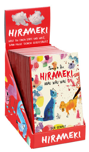 "Cover Leerbox ""Hirameki – Miau Wau Wau + Wolkenkino"""
