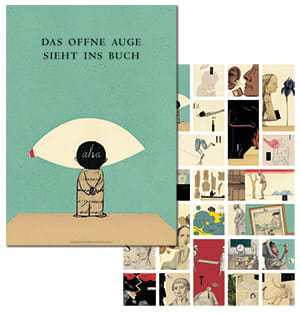 "Cover Wendeplakat Wolf Erlbruch ""Neues ABC-Buch"""