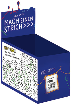 "Cover Leerbox Keri Smith ""Mach einen Strich"""