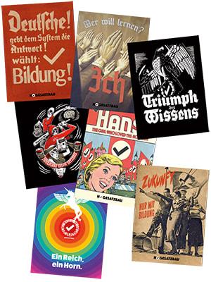 "Cover Postkarten ""Triumph des Wissens"" (7 Motive)"