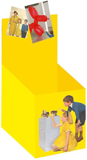 """Cover Leerbox Miriam Elia """"Wir gehen in eine Ausstellung"""""""