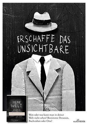 """Cover Dekoplakat Keri Smith """"Meine Welt"""""""