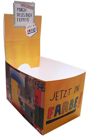 "Cover Leerbox Keri Smith ""Mach dieses Buch fertig – jetzt in Farbe"""