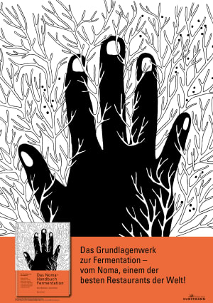 """Cover Dekoplakat """"Das Noma-Handbuch Fermentation"""""""