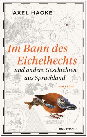 """Cover Einleseheft Axel Hacke """"Im Bann des Eichelhechts"""""""
