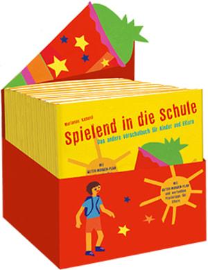 """Cover Leerbox Marianne Kampel """"Spielend in die Schule"""""""