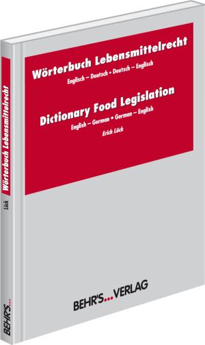 Wörterbuch Lebensmittelrecht