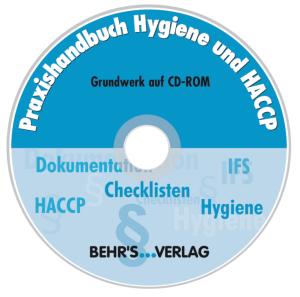 CD-ROM: Praxishandbuch Hygiene und HACCP