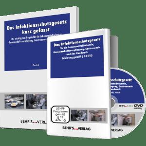 Das Infektionsschutzgesetz (DVD) + Das IFSG kurz gefasst (10 Broschüren in verschiedenen Sprachen)
