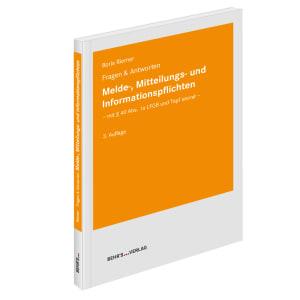 Melde-, Mitteilungs- und Informationspflichten