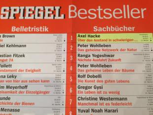 """Axel Hackes """"Über den Anstand in schwierigen Zeiten …"""" auf Platz 1 der Sachbuch-Bestsellerliste"""