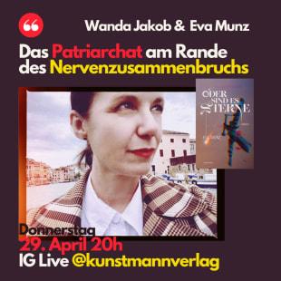 """Insta-Live mit Eva Munz zu """"Oder sind es Sterne"""""""