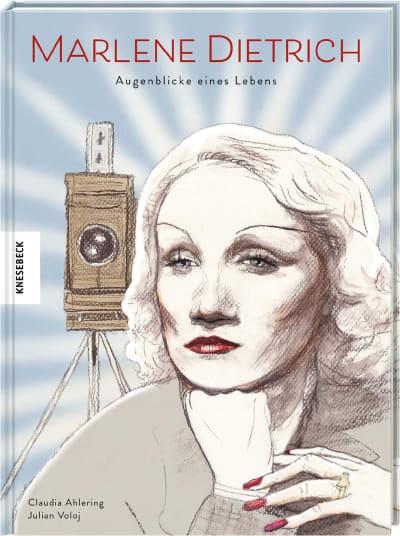 """Comic """"Marlene Dietrich - Augenblicke eines Lebens"""" (© Knesebeck Verlag)"""