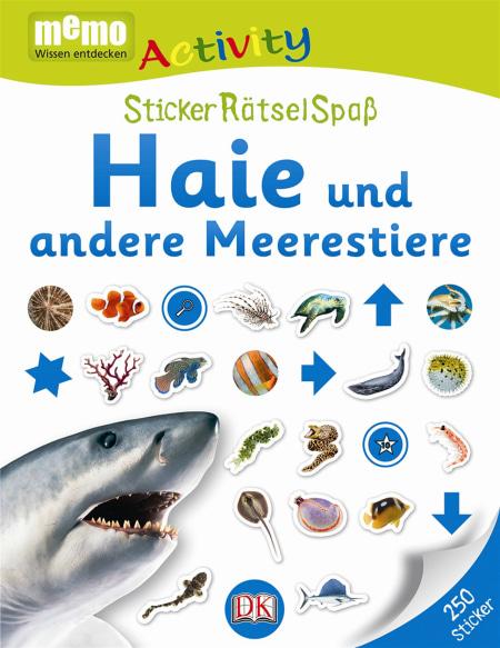 memo Activity. Haie und andere Meerestiere | DK Verlag