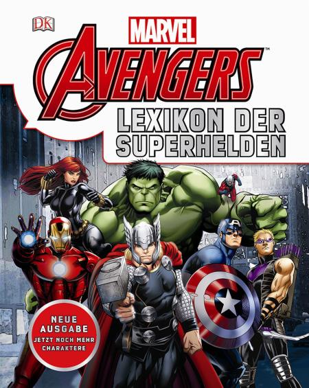 Marvel Avengers Lexikon Der Superhelden Dk Verlag