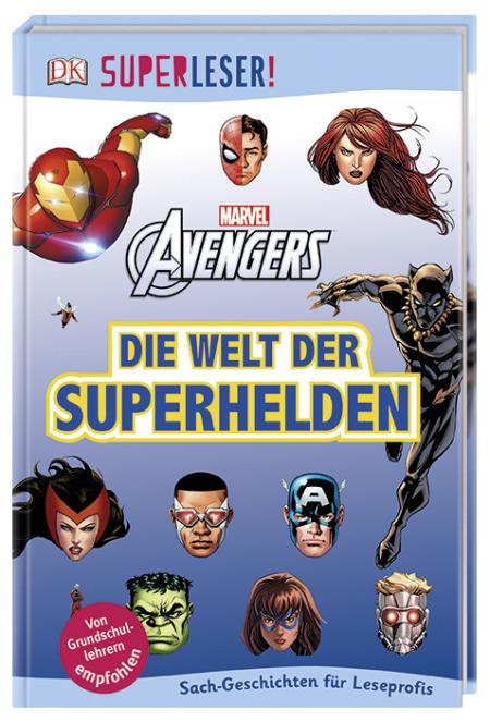 Superleser Marvel Avengers Die Welt Der Superhelden