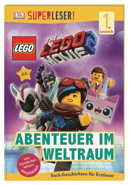 Superleser The Lego Movie 2 Abenteuer Im Weltraum Dk Verlag