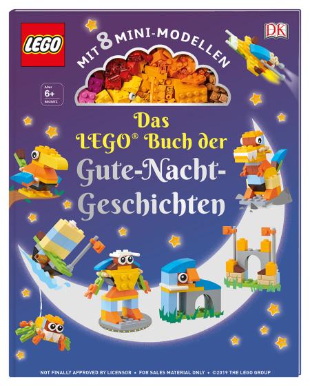 Das Lego Buch Der Gute Nacht Geschichten Dk Verlag