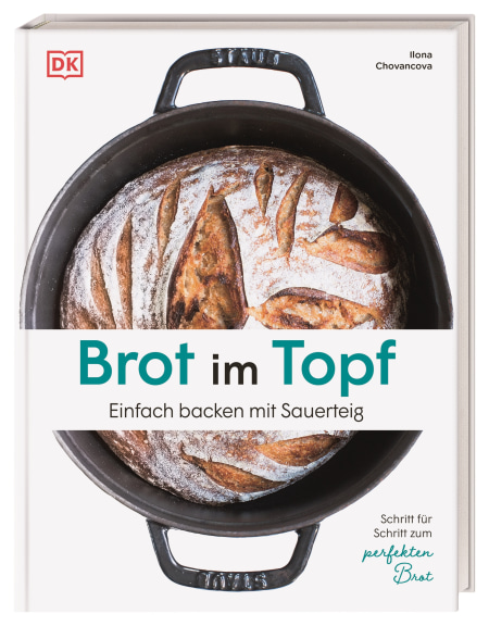 Coverbild Brot im Topf von Ilona Chovancova, 9783831041459