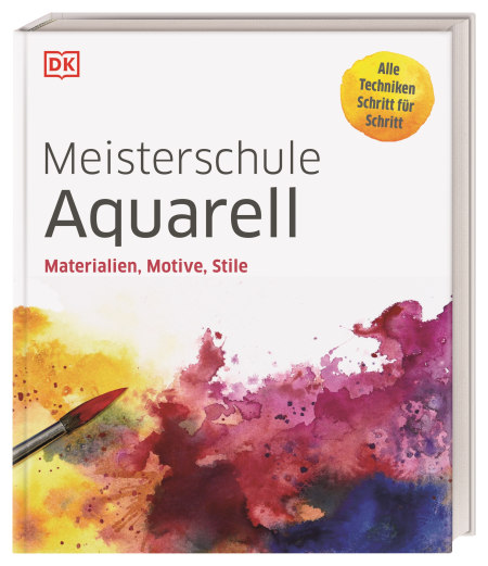 Coverbild Meisterschule Aquarell, 9783831041688