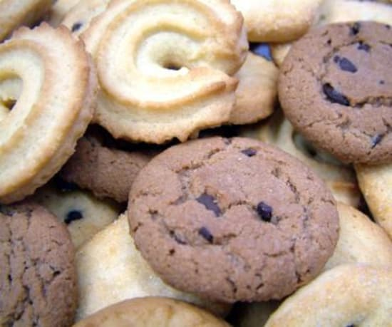 Baby-Kekse überzuckert