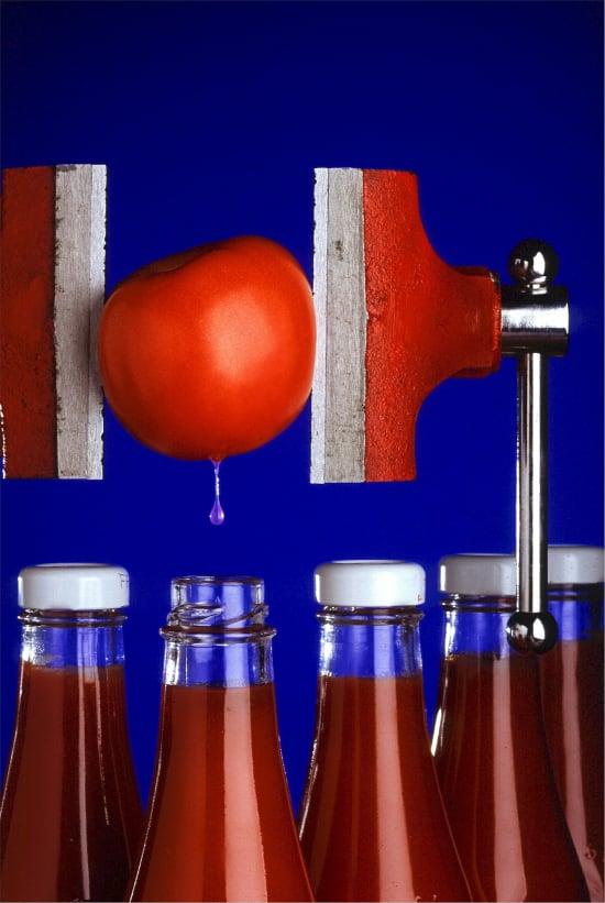 Italienischer Tomatenketchup aus EU-/Nicht-EU-Landwirtschaft