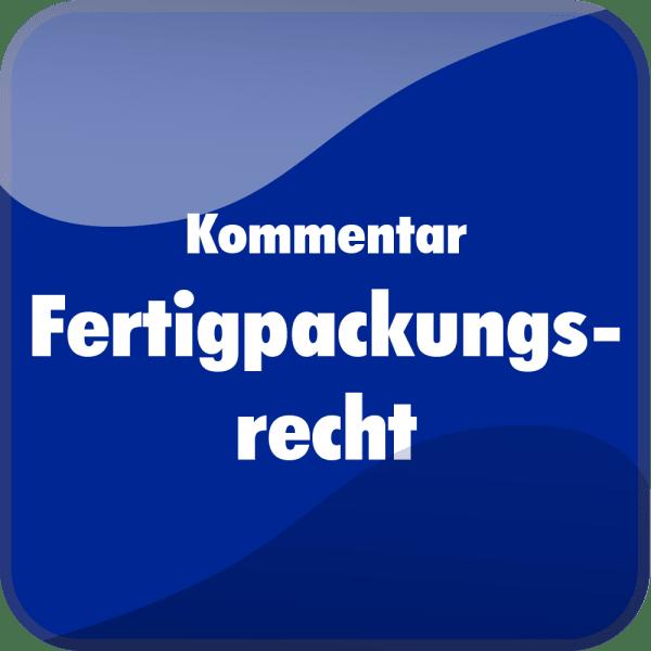 Kommentar Fertigpackungsrecht