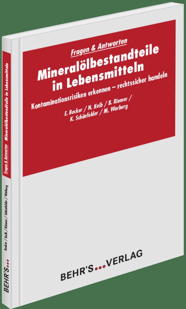 Mineralölbestandteile in Lebensmitteln