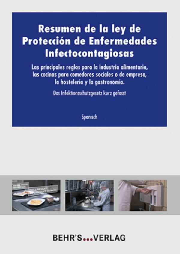 Das Infektionsschutzgesetz kurz gefasst - spanisch | Behr\'s Verlag